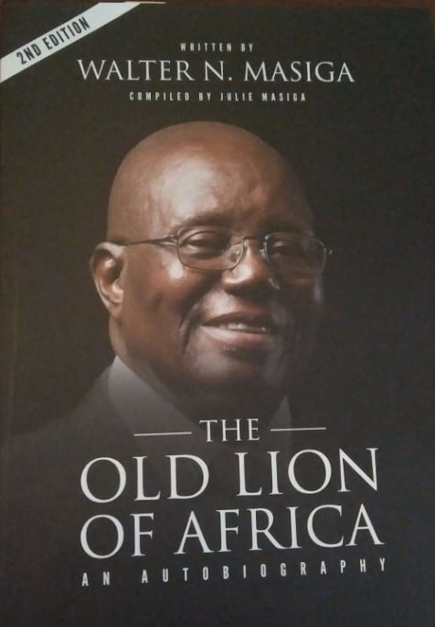 THE OLD LION OF AFRICA